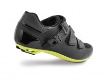 61015-40_SHOE_ELITE-RD_BLK-HYP-GRN-REFL_REAR3-4